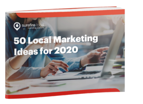 Surefire Local eBook cover image - 50 Local Marketing Ideas for 2020