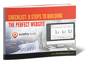 Surefire Local - 8 Step Checklist to Building The Perfect Website