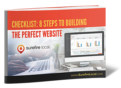 Surefire Local 8 Step Checklist to Building The Perfect Website