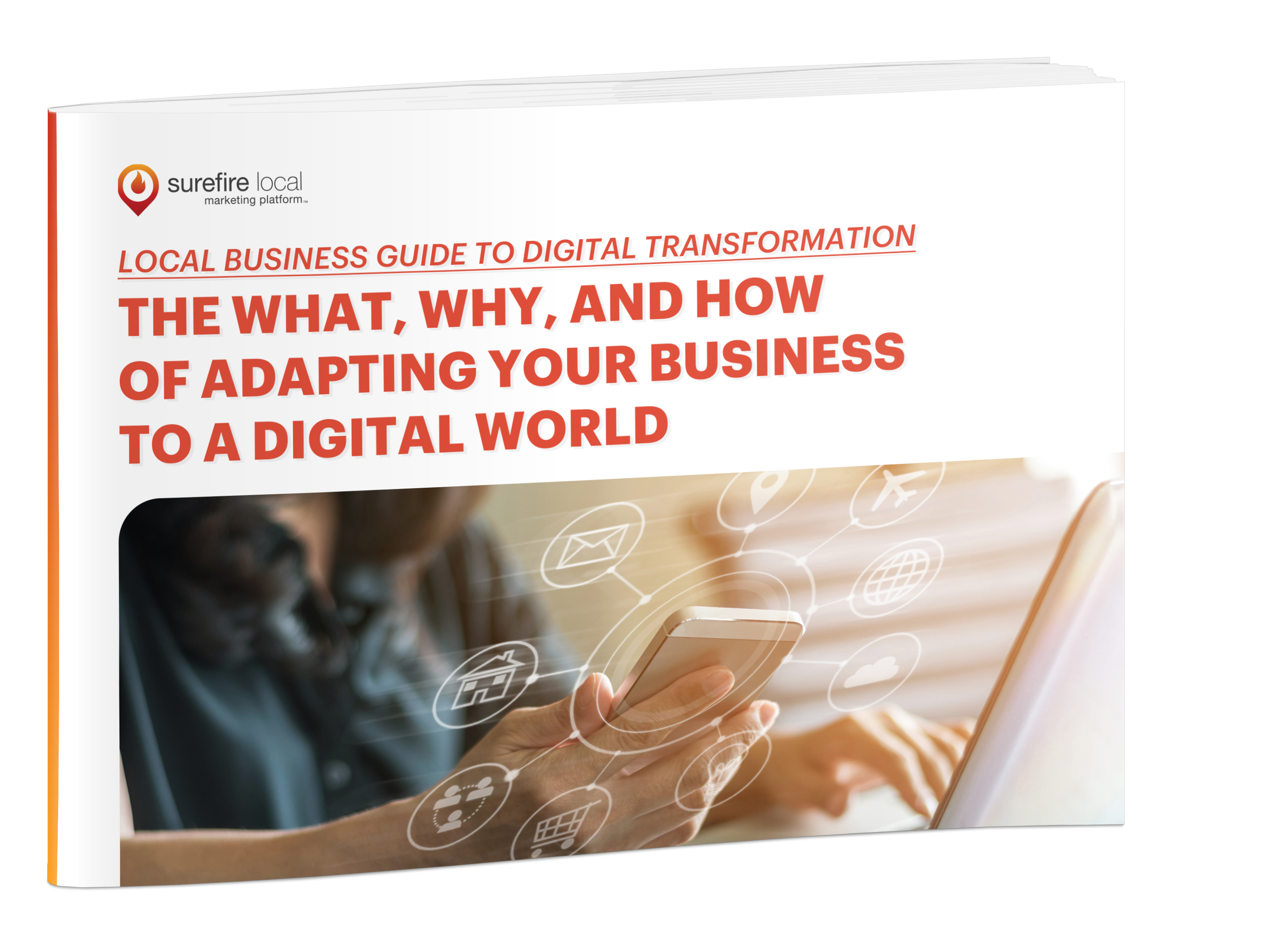 Surefire Local eBook cover image - Guide to Digital Transformation